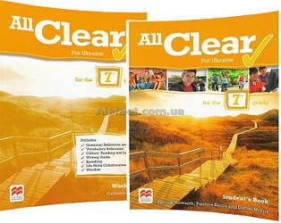 Английский язык /All Clear for Ukraine/ Student's+Workbook. Учебник+Тетрадь (комплект), 3/ Macmillan