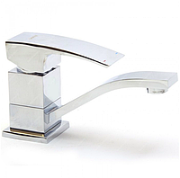 Змішувач для раковини / кухні з гайкою хром Gappo Jacob G4507