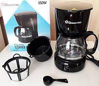 Электро Кофеварка DOMOTEC (чай/кофе) - 0707 Видео Обзор