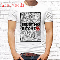 "Футболка мужская Push IT с принтом, Swag ""Trust no bitches"""