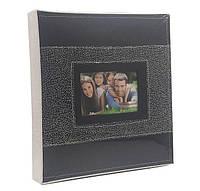 Фотоальбом магнитный на 20 листов, цвет черный,  размер листа: 30-27 см