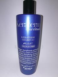 Восстанавливающий шампунь Fanola Keraterm Hair ritual 300 мл
