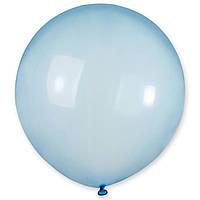 Латексные шары 19' кристалл Gemar 44 синий, (48 см) 10 шт
