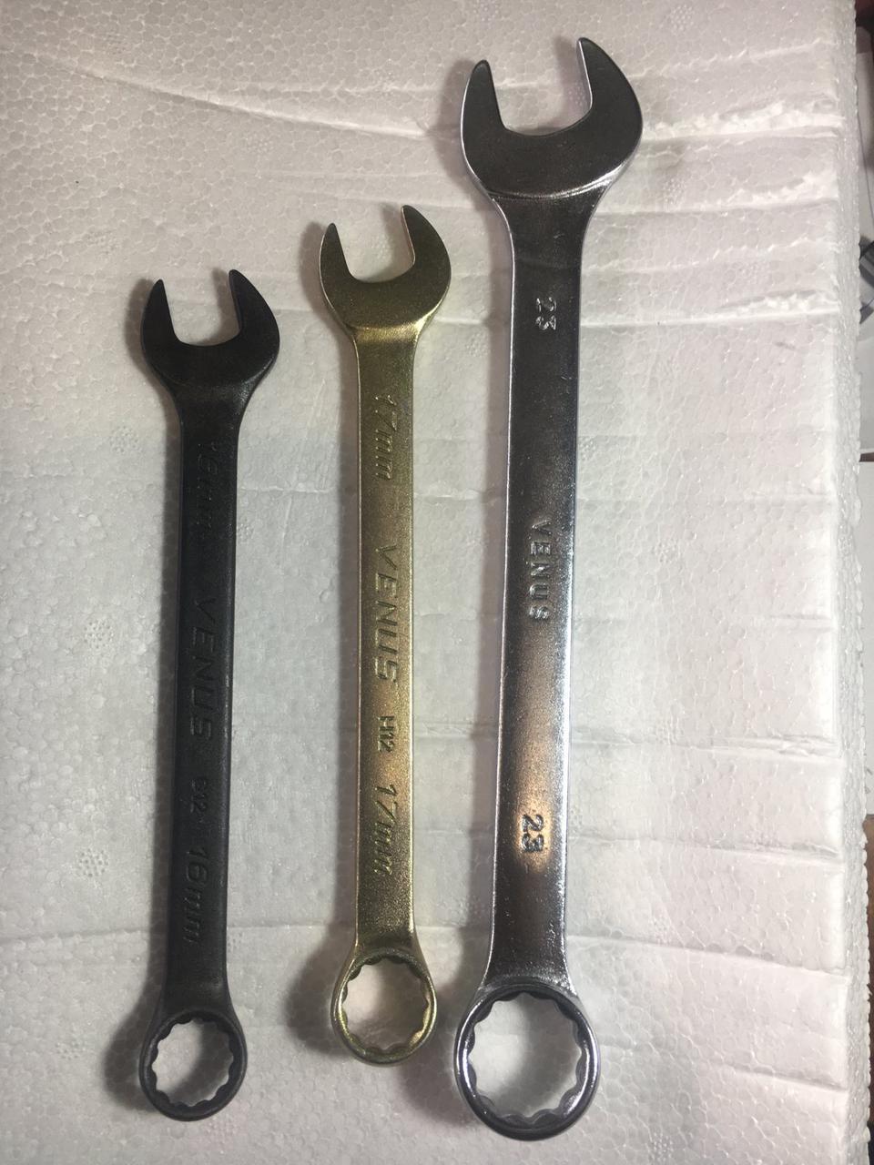 Ключ гаечный комбинированный 17 мм (Хромированные)