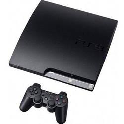 Sony PlayStation 3 Slim hdd 320gb, 3 игры в комплекте