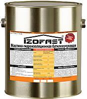 Мастика гидроизол. битумно-бутилкаучуковая Izofast (5кг) бесшовная кровля