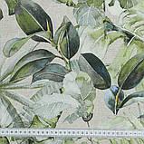 Шторы в Детскую комнату MacroHorizon Джунгли Монстера (MG-DET-159096), 270*145 см, фото 2