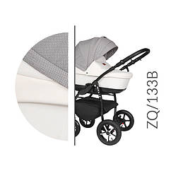 Коляска Baby Merc ZQ/133B серая