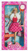 Колекційна лялька Барбі Святковий сюрприз Barbie Holiday Surprise 2013 Mattel CCL70