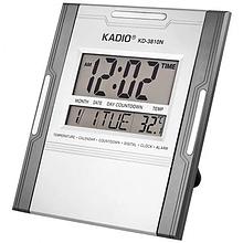 Электронные настольные цифровые часы Kadio KK 3810 N