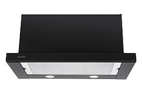 Вытяжка GARDA 60 BK (1300) SMD LED