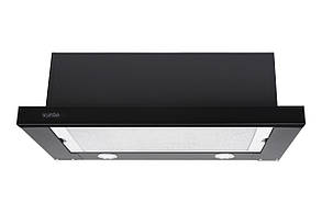 Вытяжка GARDA 60 BK (800) SMD LED