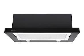 Вытяжка GARDA 60 BK (750) SMD LED