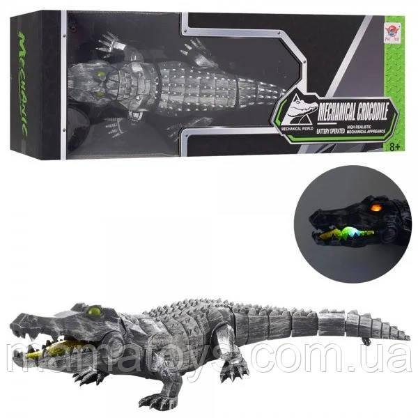 Робот Животное FK507Крокодил, 47см, ходит, звук, свет, на бат-ке,