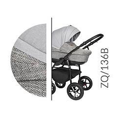 Коляска Baby Merc ZQ/136B серая