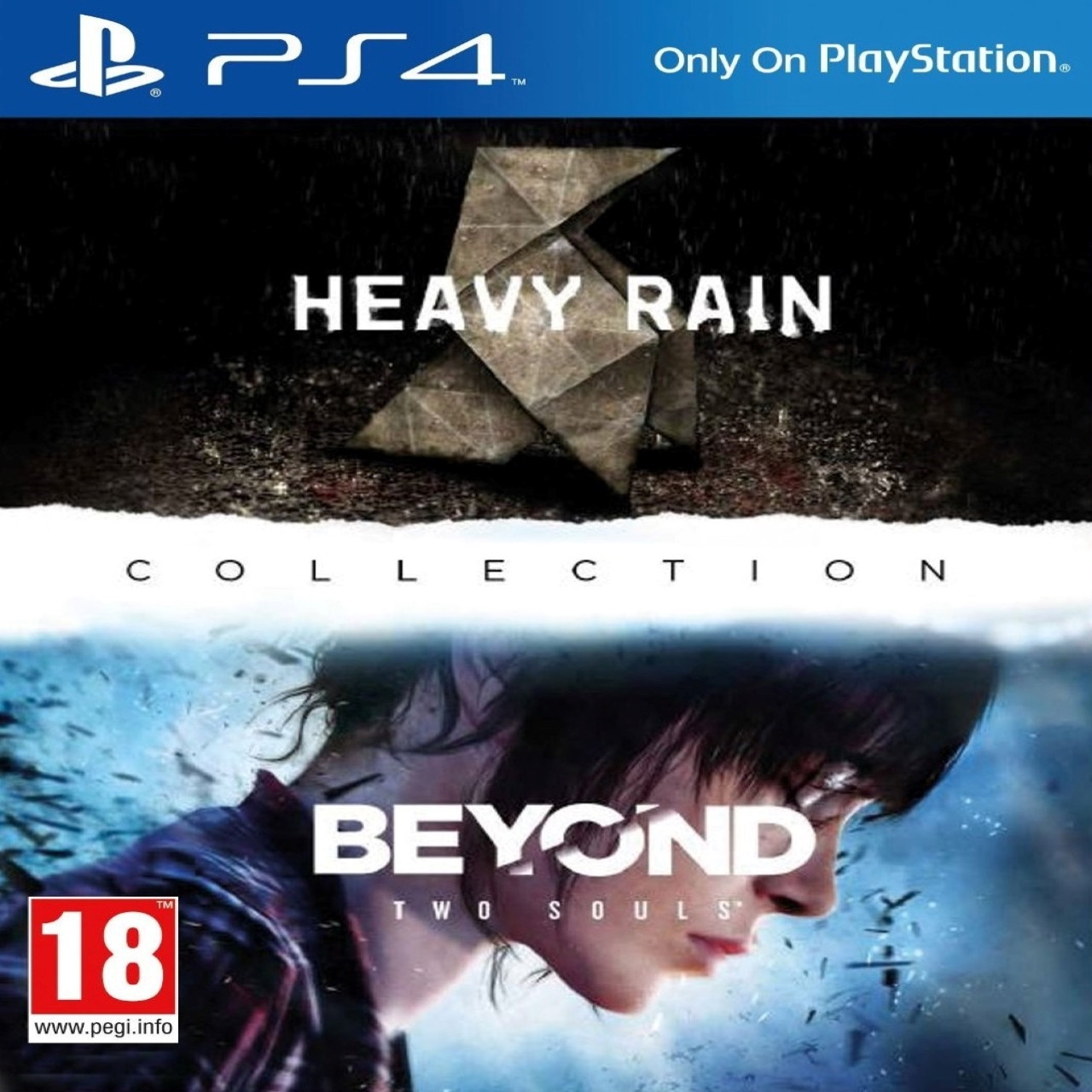 Heavy Rain and Beyond: Two Souls Collection (английская версия) PS4