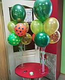 Підставка тримач для кульок настільна висота 90см, фото 4
