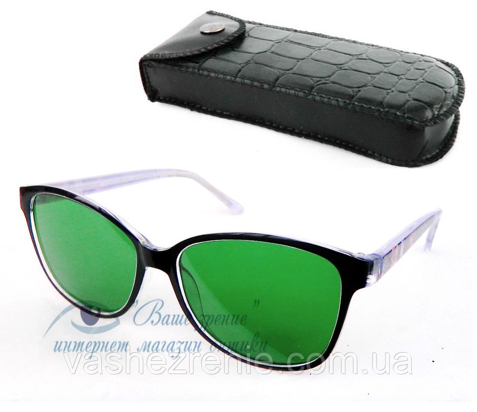 Окуляри глаукомні (СКЛО!), жіночі. Код: 5649