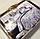 """Семейное постельное белье евро-размер с двумя пододеяльниками (13722) хлопок """"Ранфорс"""" KRISPOL Украина, фото 9"""