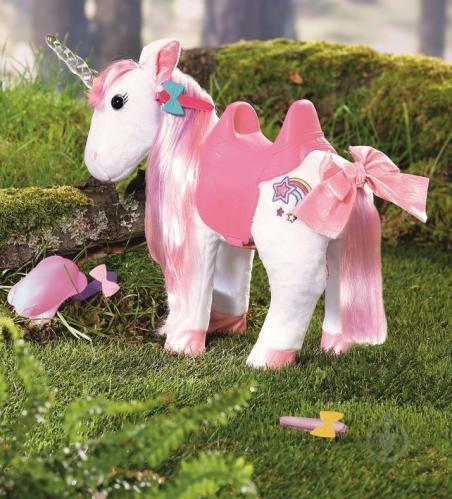 Интерактивная игрушка Zapf Baby Born Сказочный Единорог свет, звук 828854