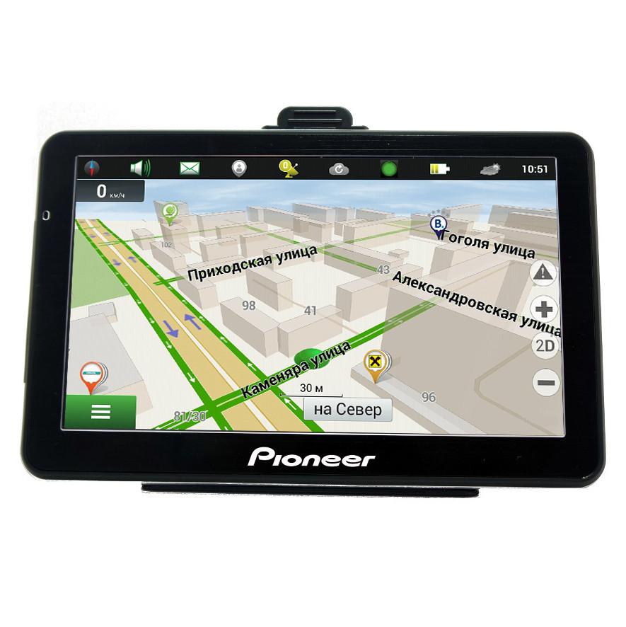 GPS навигатор Pioneer A75 (Android) с картой Украины