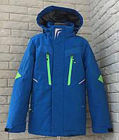 Детская весенняя курточка- ветровка на мальчика подростка, красивая, модная р-10, 11, 12, 13, 14 лет. электрик