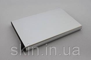 Картхолдер на 8 карт с рычагом для выталкивания, цвет - серебристый, артикул СК 5607