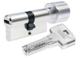 Цилиндр Abus Bravus 3000 Сompact (Германия) ключ/поворотник 80 мм