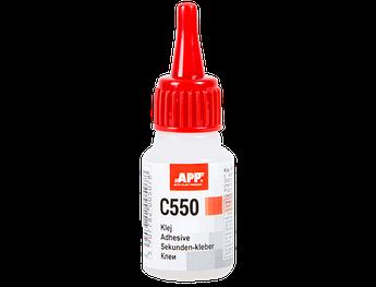 Клеи цианово-акриловые для склеивания резины и пластмассы APP C550 , 20 мл