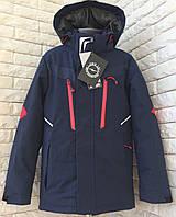 Детская весенняя курточка- ветровка на мальчика подростка, красивая, модная р-10, 11, 12, 13, 14 лет. синяя