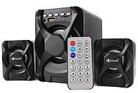Акустическая система 2.1 Kisonli U-2500BT с Bluetooth, FM, USB, SD, 220В + пульт