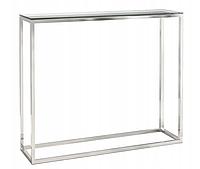 Консольный столик со стеклянной столешницей 1200мм