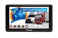 GPS навигатор Pioneer A76 (ANDROID) для грузовиков с картами Европы