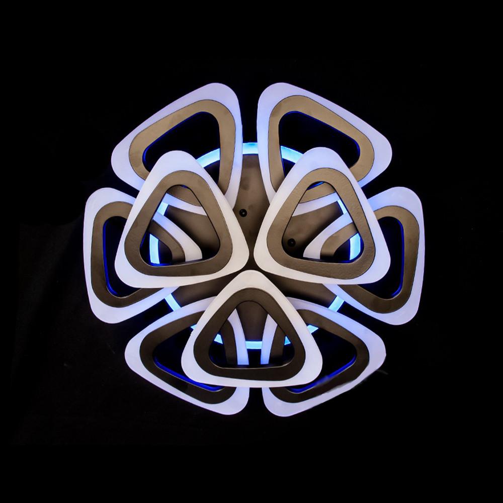Светодиодная LED люстра СветМира с пультом управления D-А9229/6+3/LED3