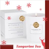 Ароматическая Свеча. Rituals Tangerine Tea . Производство Нидерланды, 360 гр( 60 часов горит)