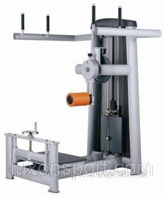Тренажер для приводящих, отводящих мышц бедра стоя