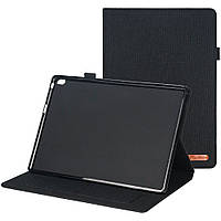 Чехол Galeo Fashion TPU Folio для Lenovo Tab E10 TB-X104F Black
