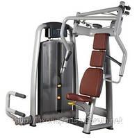 Грузоблочный тренажер  Жим от груди сидя