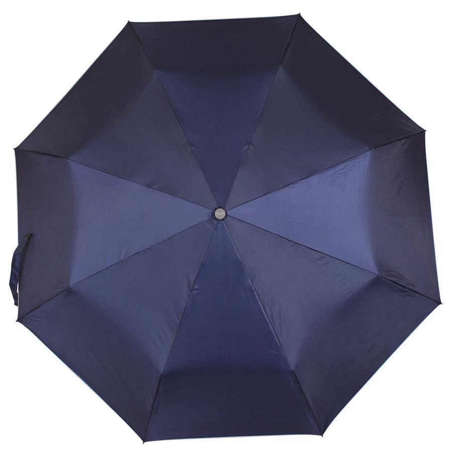 Зонт складной de esse механический cиний