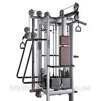 Грузоблочный тренажер Четырехпозицонная станция + система FREEMOTION