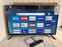 "Телевизор со встроенным T2 Smart TV 32"" FULL HD Wi-Fі/ T2 Android 8.0/HDMI"