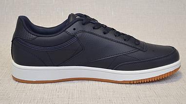 Кросівки з натуральної шкіри Restime PMO19827 сині, фото 3