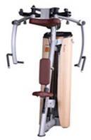 Грузоблочный тренажер для грудных мышц и задних дельт (комбиннированный)