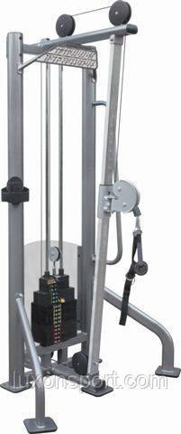 Тренажер одинарная рамка грузоблочная +система FREEMOTION