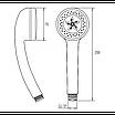 Ручной душ Invena Epi AS-53-001 хром, фото 2
