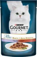Консервы Gourmet Perle Duo с телятиной и уткой 85г
