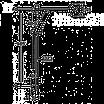Душевой гарнитур со штангой Kludi A-QA 391400500 хром, фото 3
