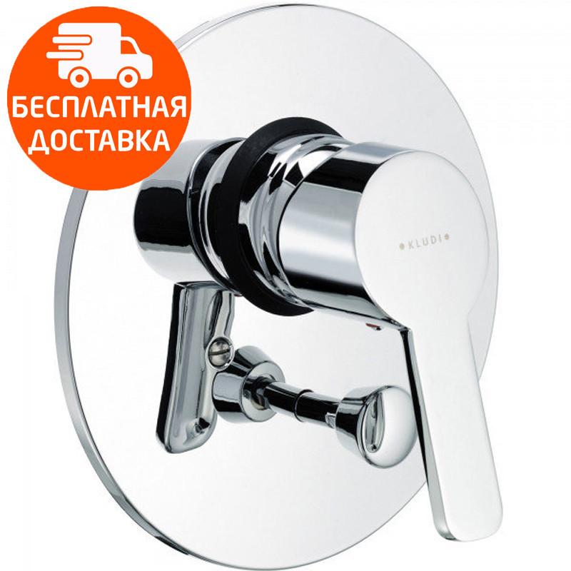 Внешняя часть смесителя для ванны скрытого монтажа Kludi Logo Neo 374190575 хром