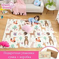 Детский игровой складной коврик для ползания 150х200 см