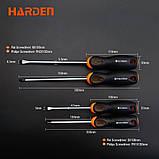 Профессиональный набор отверток, 10 предметов Harden Tools 550395, фото 4